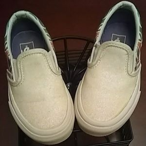 Vans toddler size 10.5 slip on skate shoes